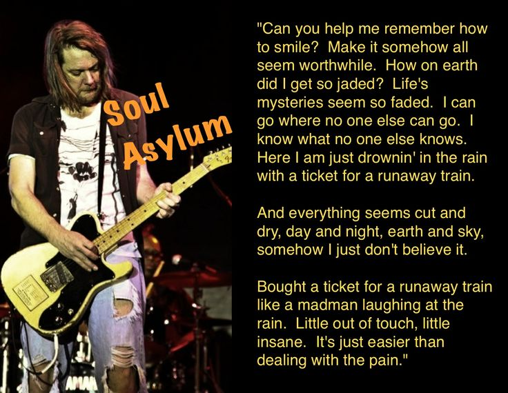 17 Best Images About Lyrics For The Soul On Pinterest: 17 Best Images About Dave Pirner Soul Asylum On Pinterest