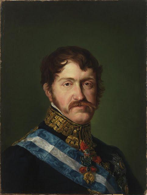 Vicente López Portaña.   Retrato del Infante Don Carlos María Isidro de Borbón. 1823. Museo Nacional del Prado, Madrid