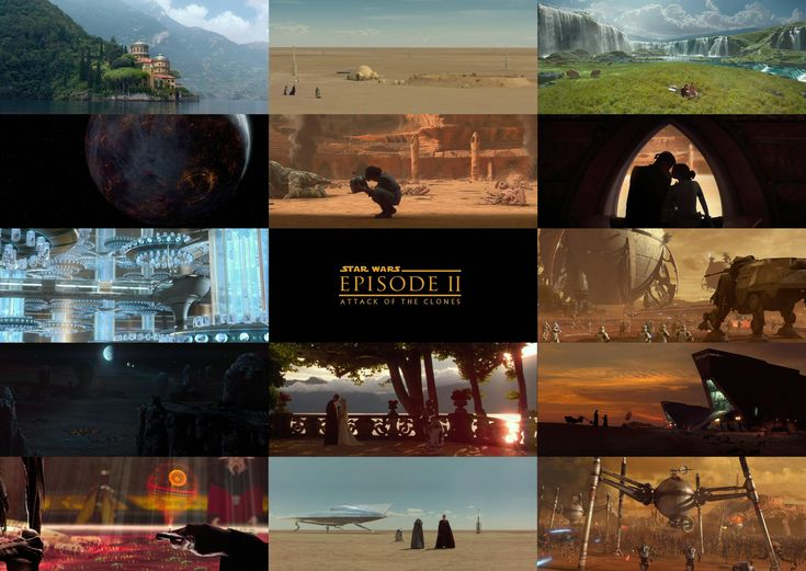 The prequels have superb cinematography