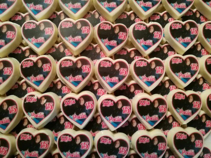 Deliciosos chocolates con tu foto y el mensaje que tu quieras!!!