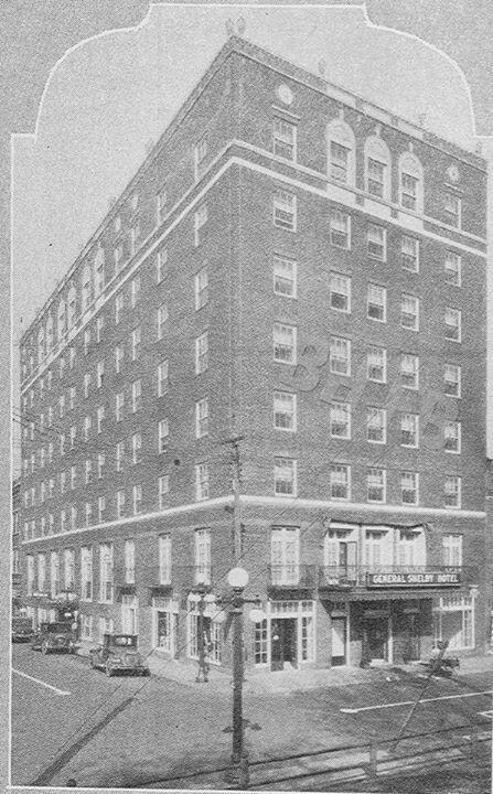 General Shelby Hotel Bristol Va Tn