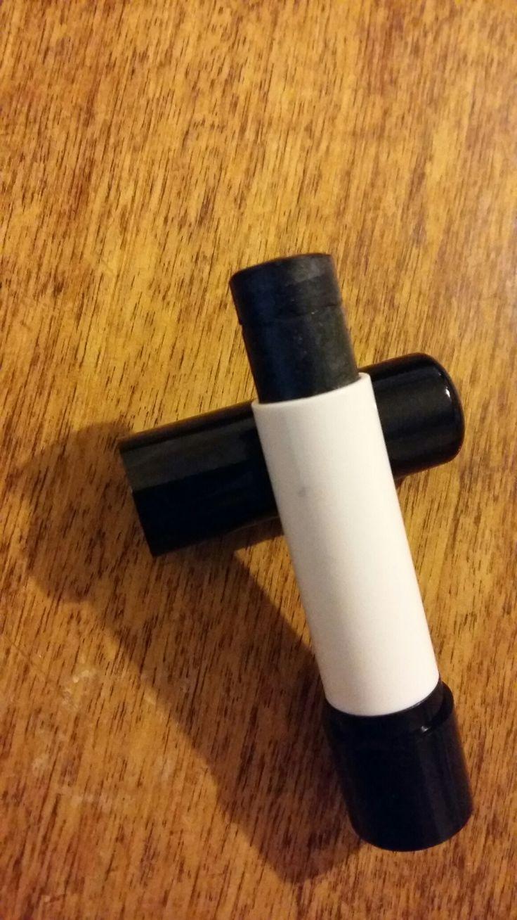 Φυτικό κραγιόν με μελισσοκέρι, βούτυρο καριτέ, καστορέλαιο και ορυκτό χρώμα mica! 100% natural lipstick!  Gothic, Black lipstick!