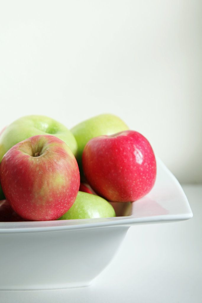 Apples are one of the fruits that are highest in pectin, a soluble fiber that helps you feel full and satisfied. Eat an apple as a snack, and you may just feel like eating a little less when it comes time for your meal.
