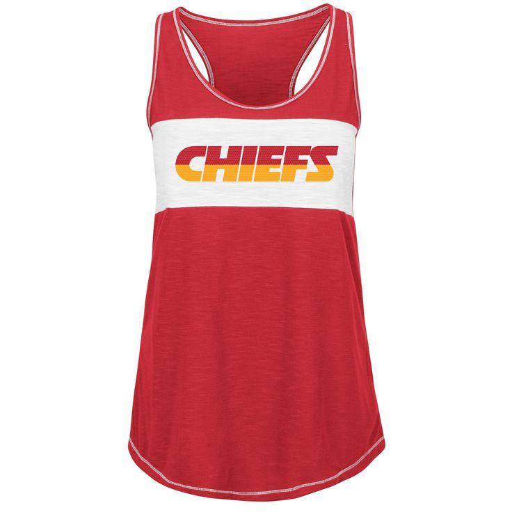 Kansas City Chiefs Game Time Glitz Ladies Tanktop by Majestic