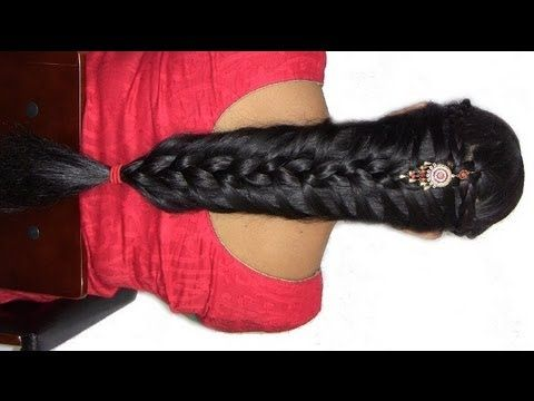 How To Do Indian/Pakistani Bridal Braid Hairstyle : For Long To M http://www.youtube.com/watch?v=vjBi_3ZTpwY