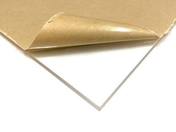 "Clear Polycarbonate Sheet 1//4/"" x 10/"" x 48/"" .220"