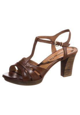 Sandalette - nut uni