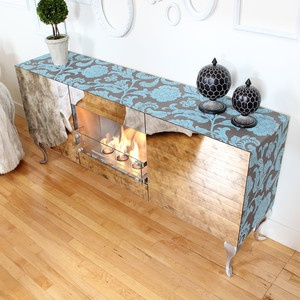 Aged Mirror Console Firespace now featured on Fab.