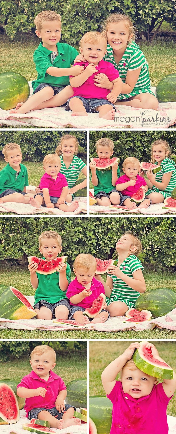 watermelon cute photo idea