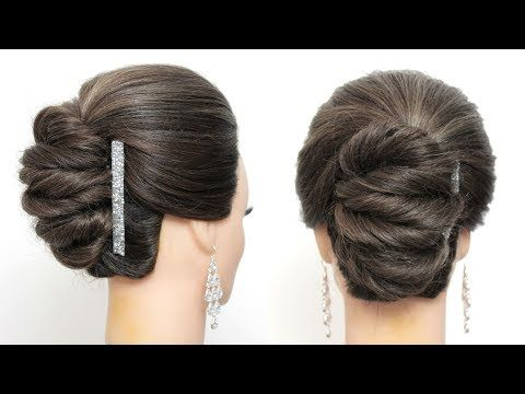 Prom Wedding Updo Tutorial Easy Hairstyles For Long Hair Youtube Hair Updos Tutorials Easy Hairstyles For Long Hair Wedding Updo Tutorial