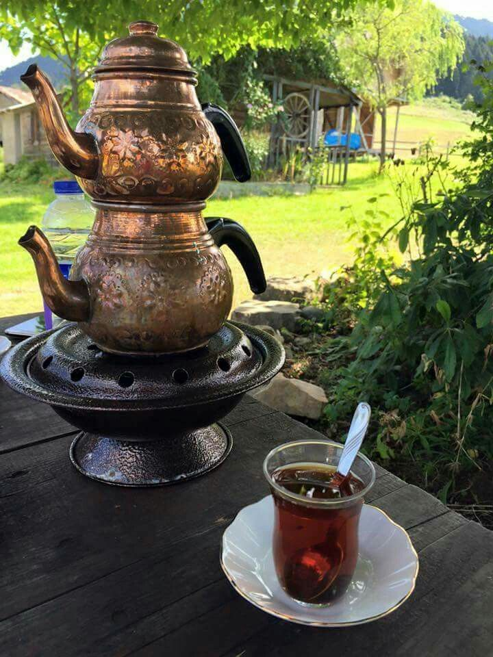Semaver and Turkish Tea