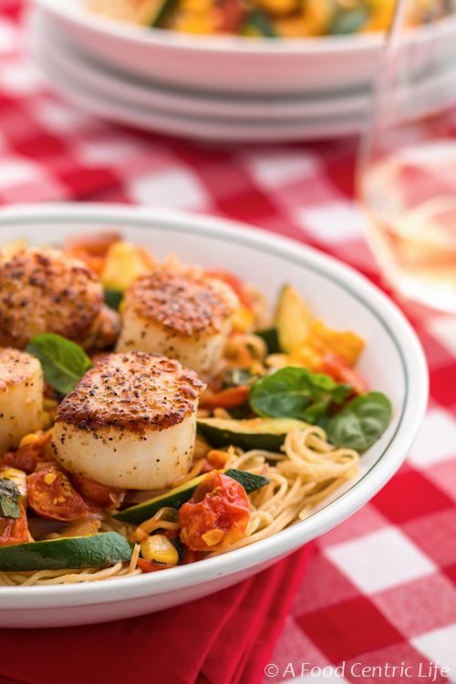 183 Best Images About Scallops Recipes On Pinterest