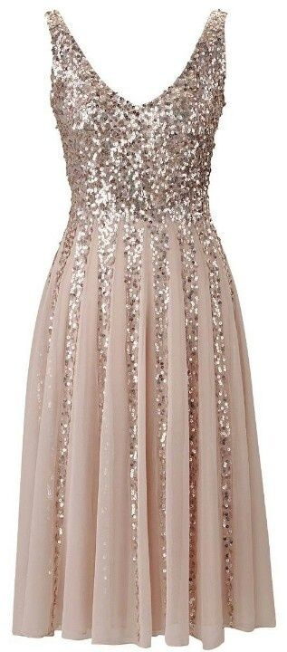 Cute and sparkly dress: