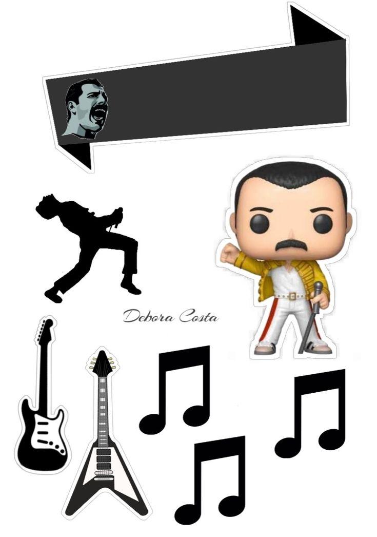 Freddie Mercury em 2020   Topo de bolo, Bolo, Topper de bolo