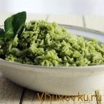 Вегетарианские и веганские рецепты: Мексиканский зеленый рис