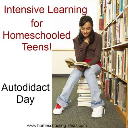 Homeschooling or Unschooling into High School can be a delicate balance. Autodidact day turns your teens into self-learners.