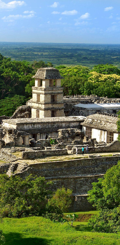 Palenque, Maya ciudad estado en el sur de México