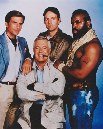 The A-Team. I love this old TV show! :)