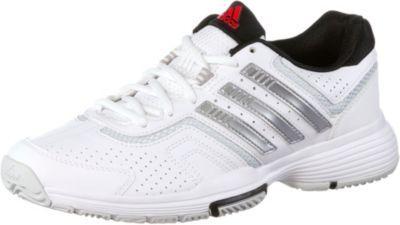 #adidas #Barricade #Court 2 #Tennisschuhe #Damen #weiß/silber -