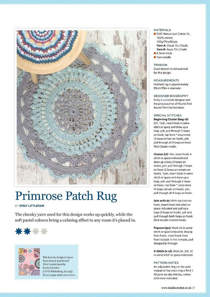 Mejores 408 imágenes de Free Crochet Patterns en Pinterest ...