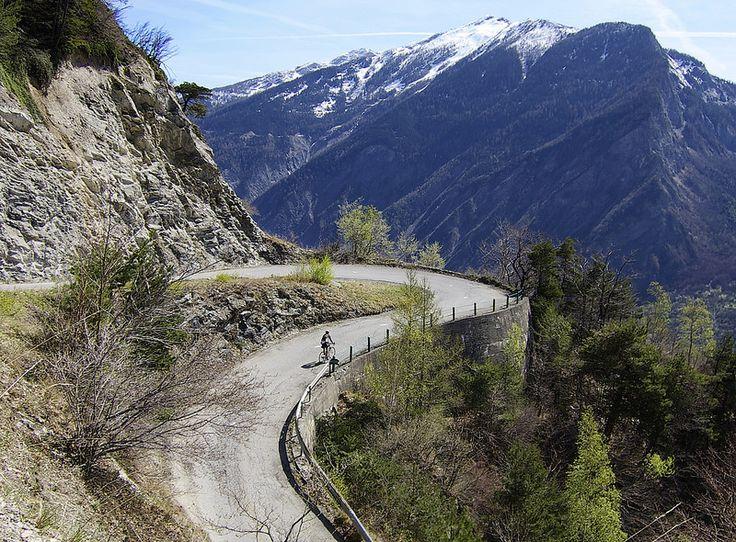 Montdenis - Maurienne Valley across from Col de la Croix de Fer