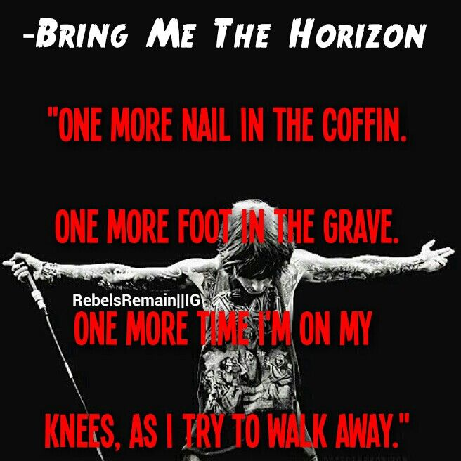 Bmth Quotes: 111 Best Images About Bring Me The Horizon Quotes ️ On