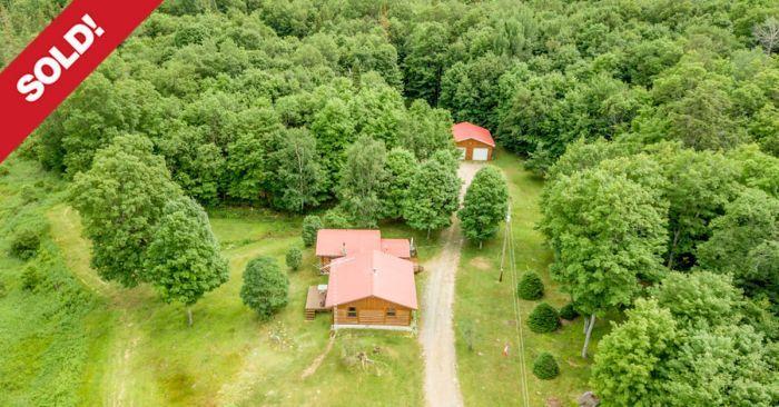 SOLD! 4-Seasons Huntsville Home Sitting on 96 Acres