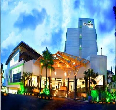 Banana Inn Hotel, Bandung, Indonesia.