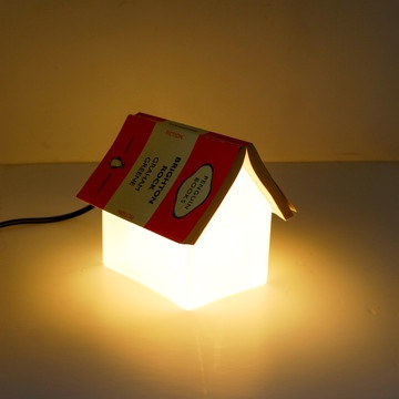 Bookrest Lamp... for the book nook!