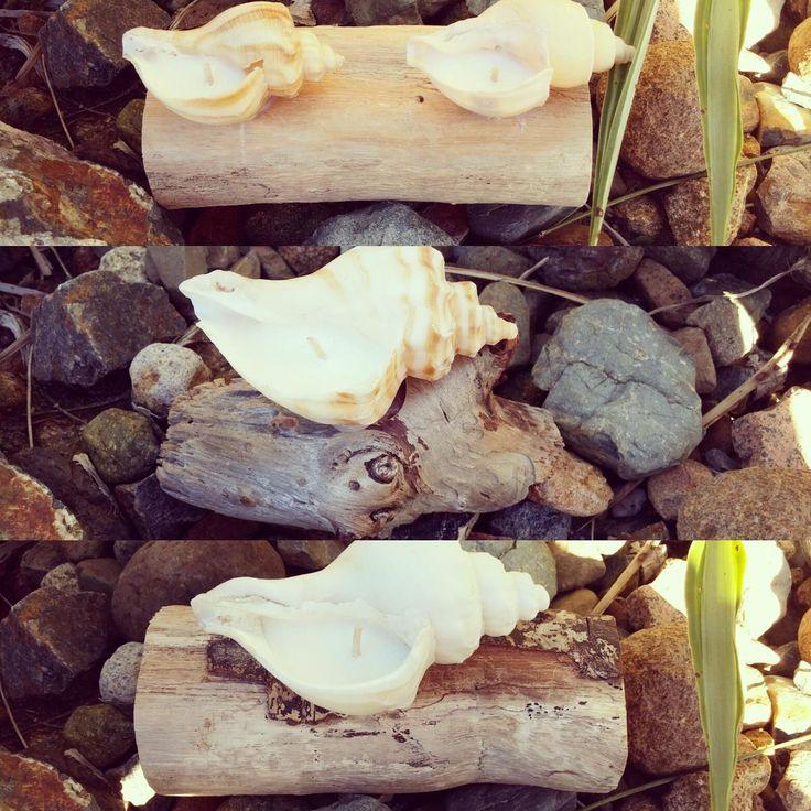 #ohmybymeli #naturalsoycandles #naturalsoy #seashellcandles #beach #driftwood www.ohmybymeli.com.au