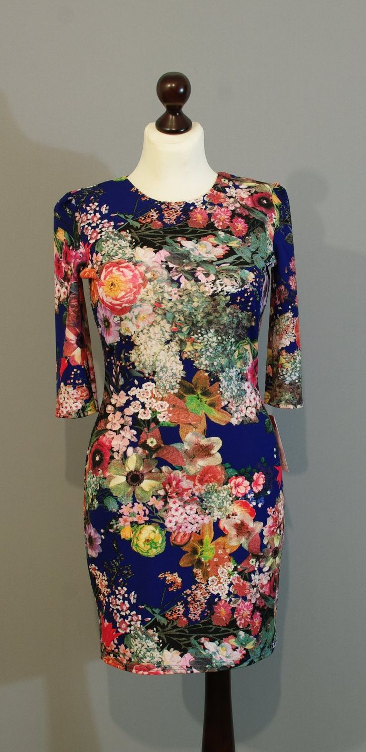 Цветочное платье-мини купить на сайте Платье-терапия (40)