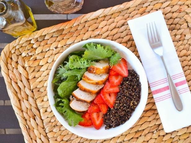 5 ingredient strawberry and black quinoa salad recipe quinoa get 5 ingredient strawberry and black quinoa salad recipe from food network forumfinder Choice Image