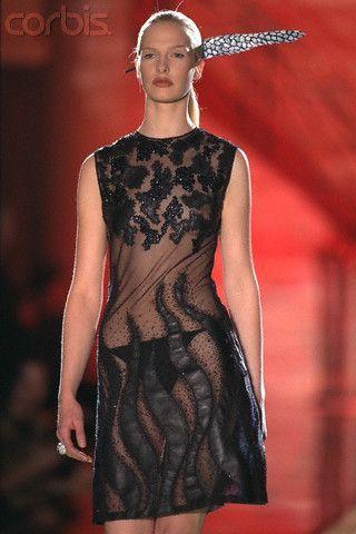 Versace Atelier spring summer 1996 Christina Kruse