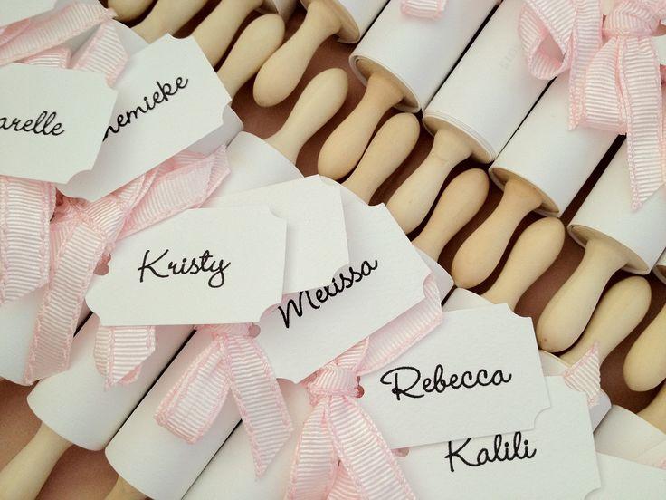 Sugarcoated Events: Elle's Kitchen Tea Invitations