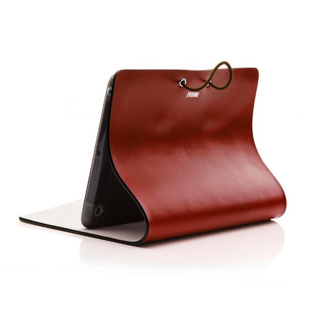ide-home Store - Evouni Leather Arc Cover for iPad mini - Claret