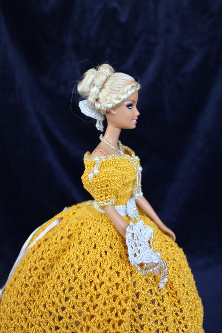 Tati Orange - Details [handmade crochet]