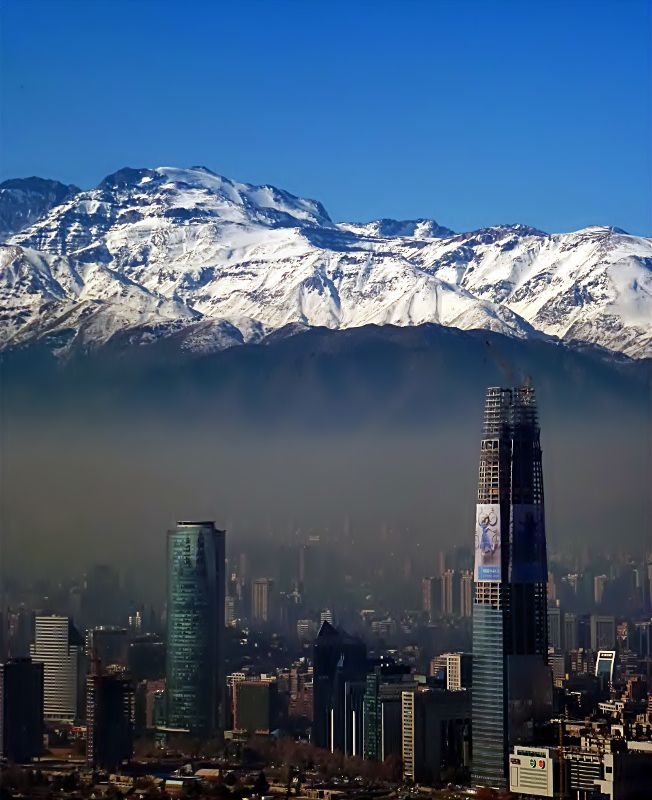 Santiago, Chile----I will be headed here after I graduate with my Masters! A congratulations trip to myself! No doubt! I have family here so free board! Cant wait!