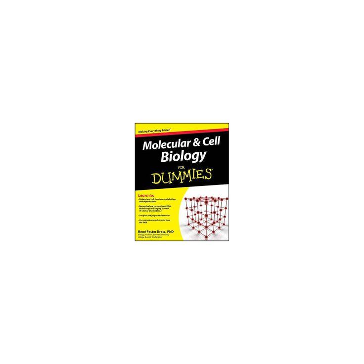 Molekular- und Zellbiologie für Dummies – (For Dummies) von Rene Fester Kratz (Pap …   – Products