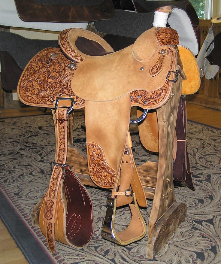 rough out team roping saddles - Google Search