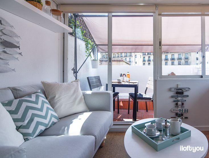 pisos pequeños barcelona minipiso terraza barcelona minipiso decoración estilo nórdico estilo mediterráneo estilo escandinavo decoración pisos pequeños decoración nórdica antes después decoración