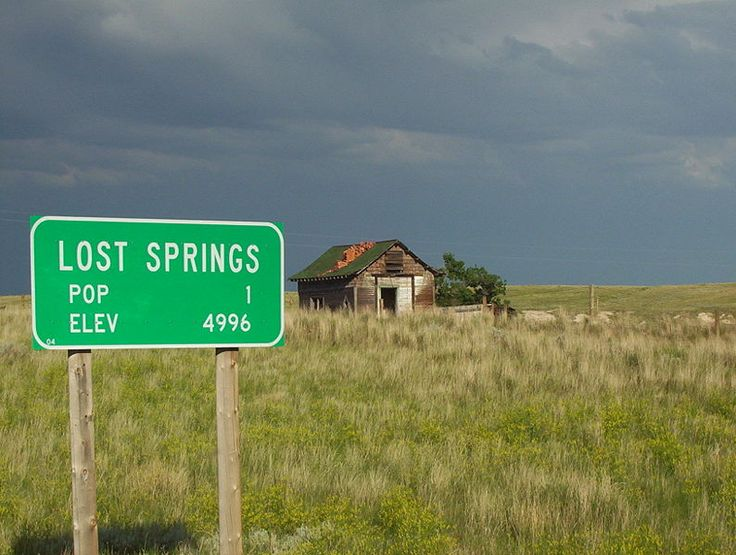 lonely townPhotos, Funny Pics, Funny Signs, Wyoming, Ghosts Town, Lonely Numbers, Lost Spring, Places, Population