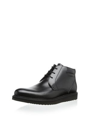 64% OFF The Generic Man Men's Bouncer Leather Lace-Up (Black)