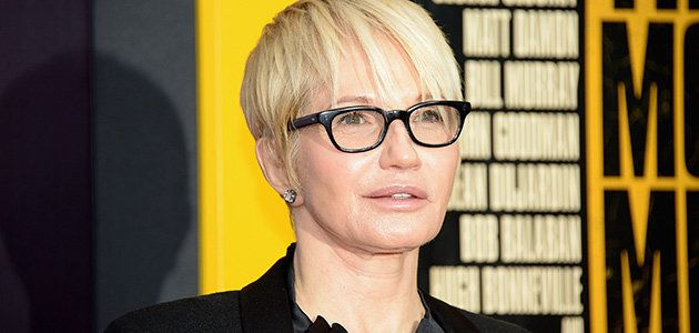"""Photo Credit: Michael Loccisano/Getty Images: Ellen Barkin The gorgeous 60-year-old with the husky voice is perfect in the charming fantasy """"The Cobbler,"""" which also stars Adam Sandler, Dustin Hoffman and Steve Buscemi./"""