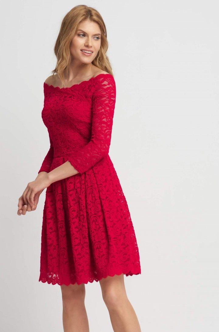 Čipkové šaty so širokou sukňou | ORSAY