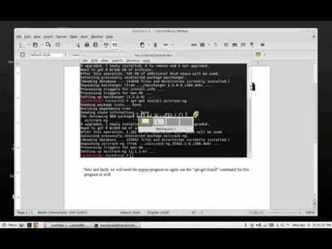 Hacking Wi-Fi with ANY version of Linux!!  (Ubuntu, Mint, Debian, Kali, Backtrack, etc.)  #backtrack #debian #hacking