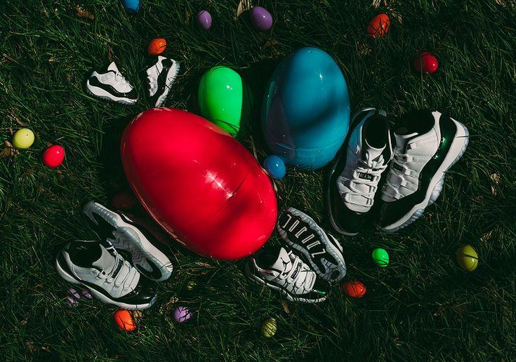 "Air Jordan 11 Low ""Emerald"" Releasing in Full Family Size Run - minilicious.com"