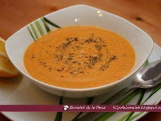 Supa crema de linte rosie - Rețetă Petitchef