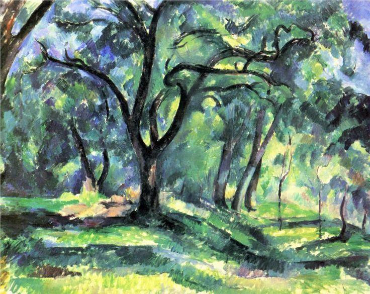 Paul Cezanne - Forrest, 1890