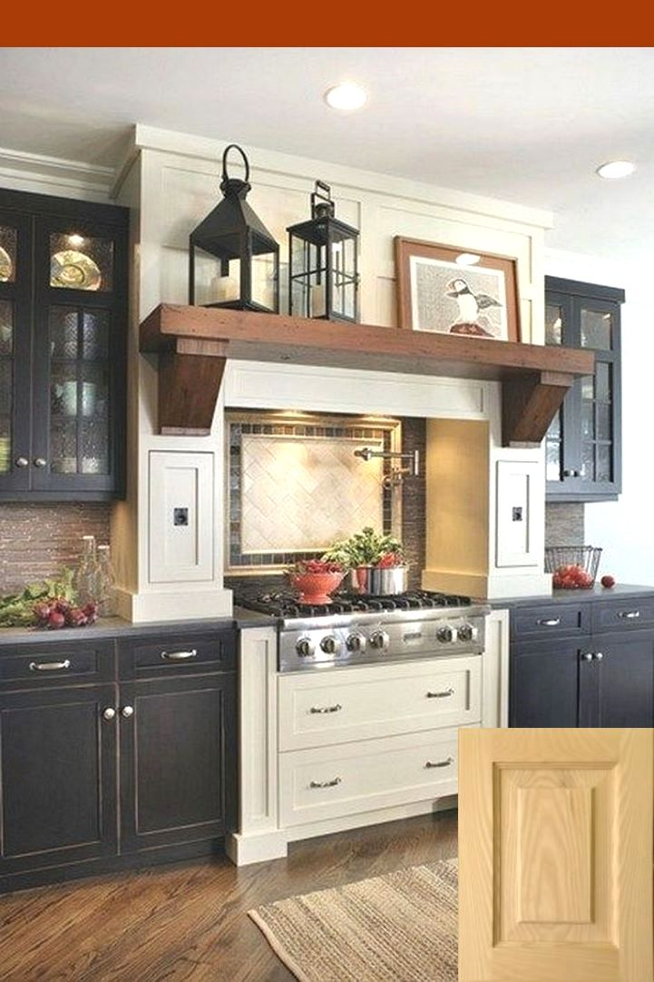rustic farmhouse decor above kitchen cabinets | cabinets in 2019