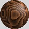 Hout textuur - Perlin Noise algoritme